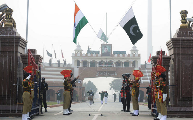 India-Pakistan border.