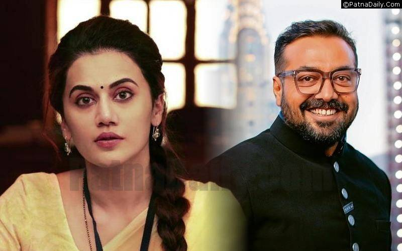 Actor Taapsee Pannu and Director Anurag Kashyap