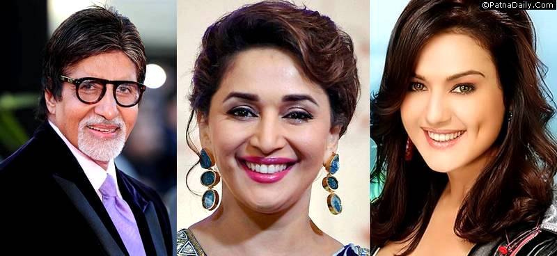 Amitabh Bachchan, Madhuri Dixit, and Preity Zinta sued by Muzaffarpur lawyer.