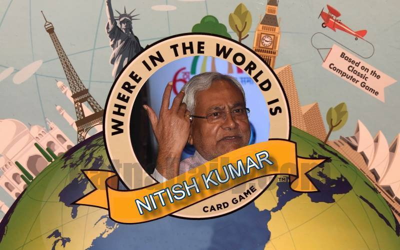 Nitish Kumar goes missing during pandemic.