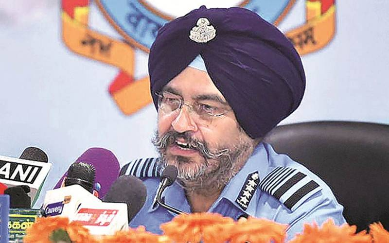 Air Chief Marshal Birender Singh Dhanoa.