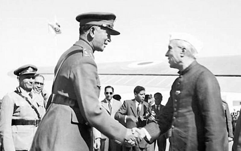 General Cariappa with Prime Minister Jawaharlal Nehru.