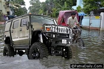 Water-logging in Patna.