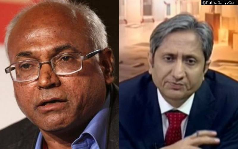 Kanchah Ilaih Shepherd and Ravish Kumar.