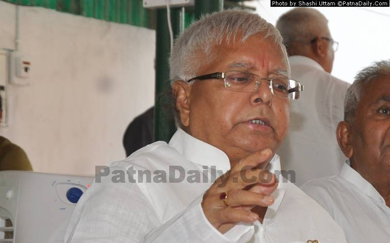 Lalu Prasad Yadav (file photo).