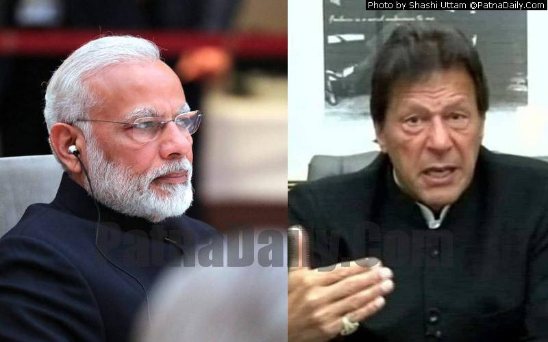 PM Narendra Modi and his Pakistani counterpart Imran Khan.