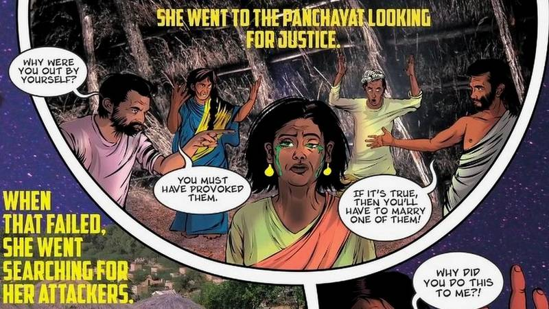 Priya's Shakti - a comic book by Ram Devineni to spread awareness about sexual violence against women in India.