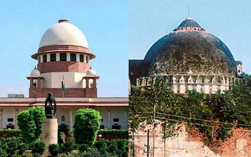 Supreme Court verdict on Babri Masjid/Ram Temple.