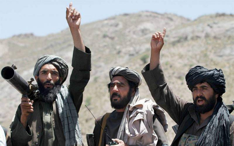 Taliban terrorists in Afghanistan.