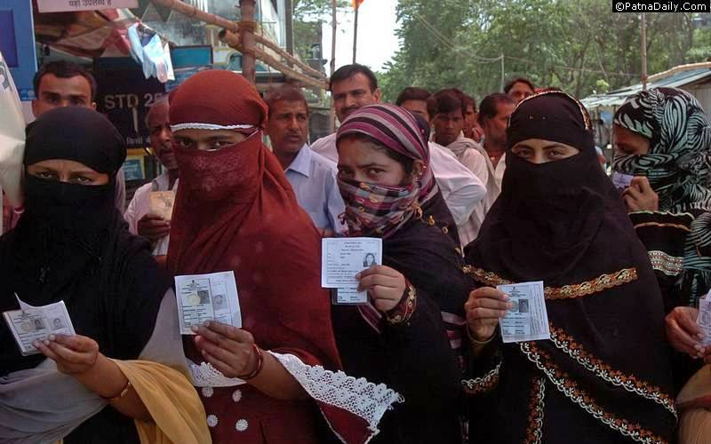 Voters in Bihar (file photo).