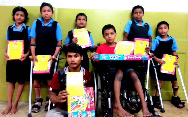 Physically-challenged children