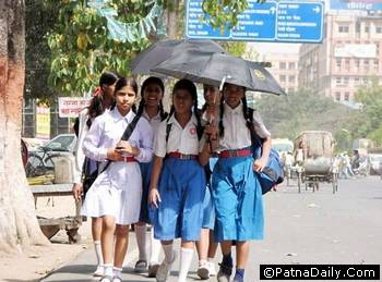 Students in Patna.