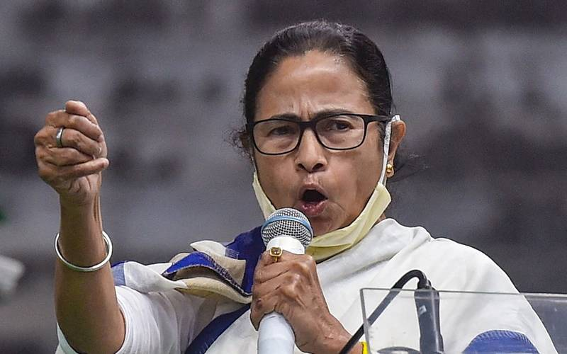 Trinamool Congress leader and WB CM Mamata Banerjee.