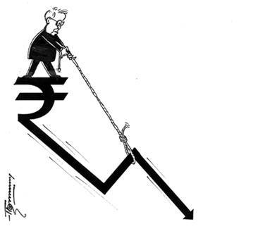 Unabated Rupee Slide by Dr. Thommy Kodenkandath