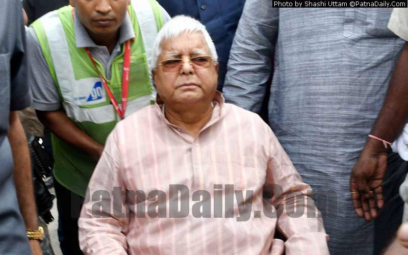 RJD chief Lalu Prasad Yadav (file photo).