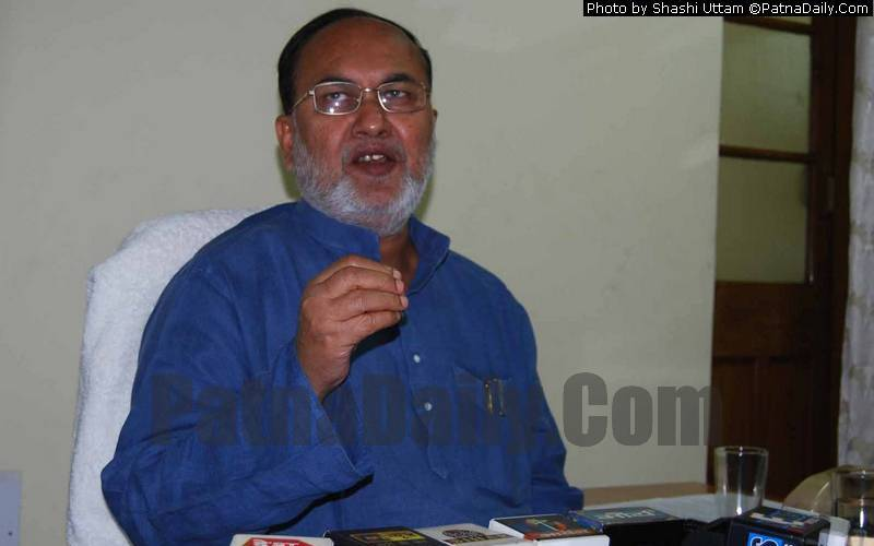 RJD leader Abdul Bari Siddiqui (file photo).