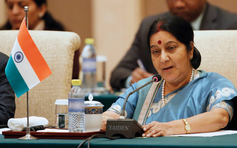 BJP leader Sushma Swaraj is no more.