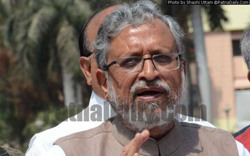 BJP leader and Bihar Deputy CM Sushil Kumar Modi (file photo).
