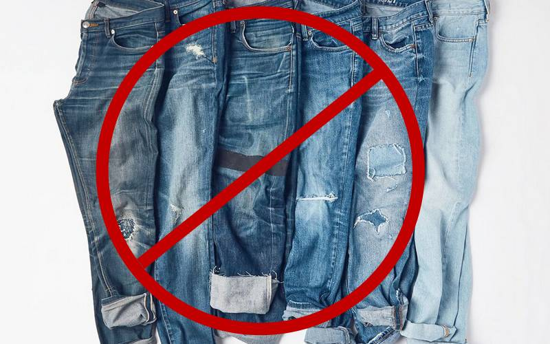 Jeans, t-shirts banned in Bihar government offices.