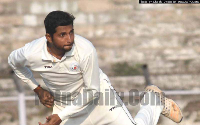 Bihar spinner and captain Ashutosh Aman breaks Bishan Singh's Bedi record.