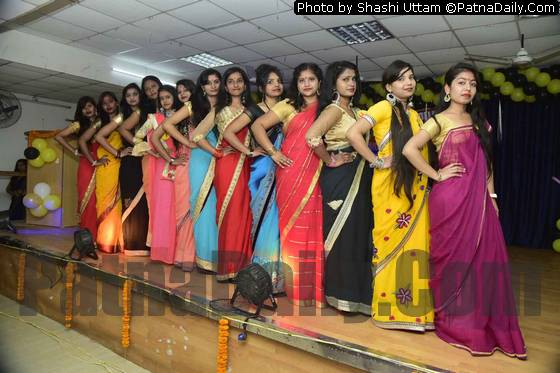 Cat walk at Arvind Mahila College on Saturday.