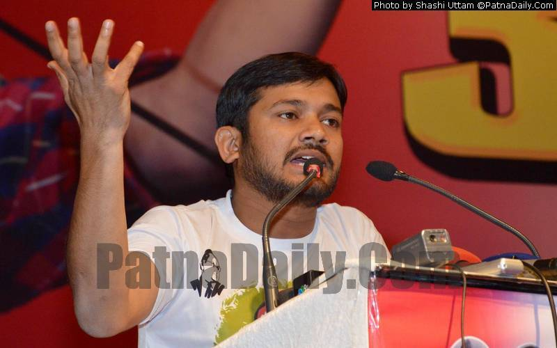 CPI candidate from Begusarai Kanhaiya Kumar (file photo).