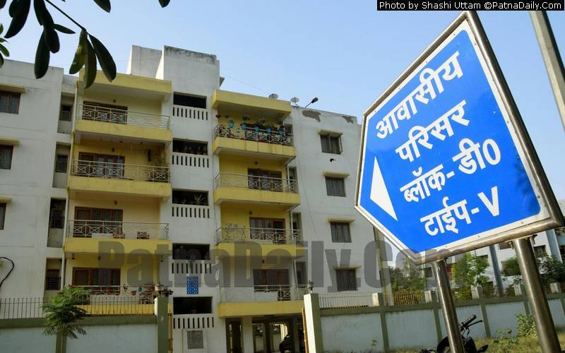 The flat behind AG Office on Birchand Patel Marg in Patna.