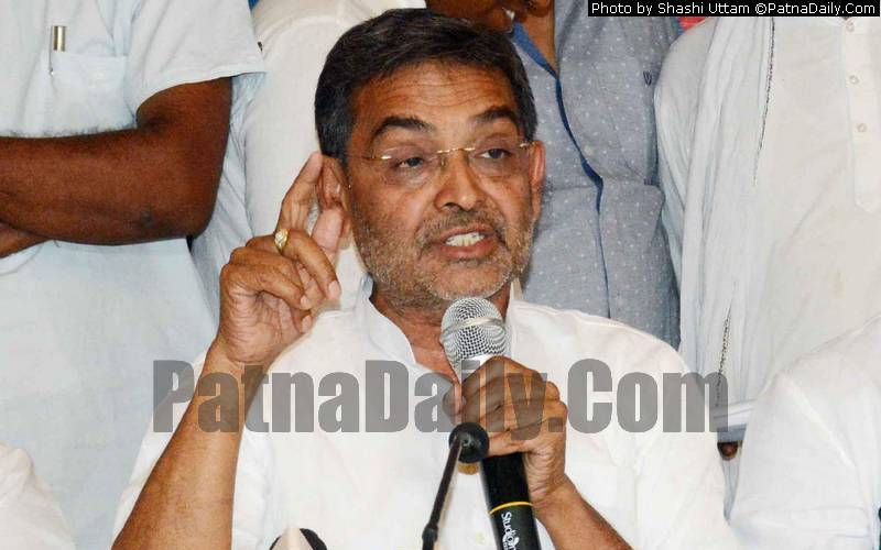 RLSP chief Upendra Kushwaha (file photo).