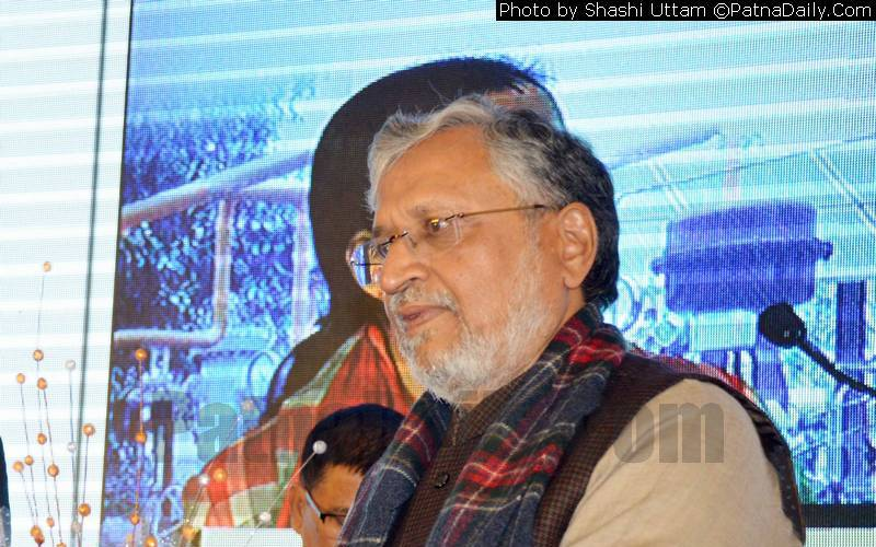 Bihar Deputy CM and BJP leader Sushil Kumar Modi (file photo).