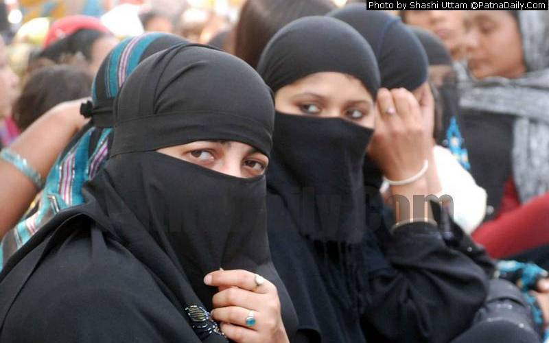 Muslim students in Patna (file photo).