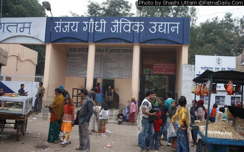Patna Zoo among many public places including schools and colleges shut down due to Coronavirus threat.