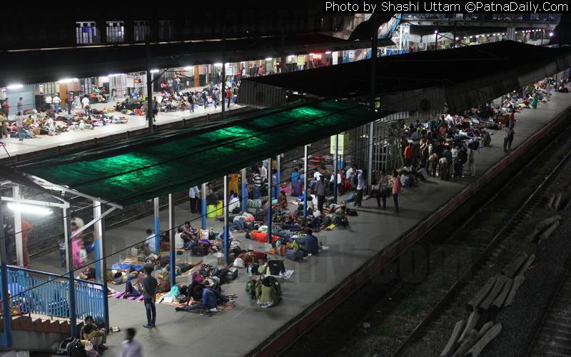 Scene at Rajendra Nagar Terminal in Patna (file photo).