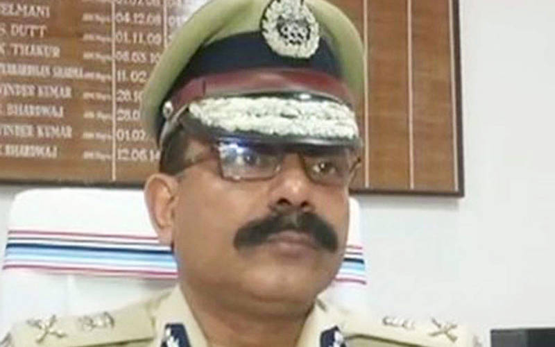 Bihar new DGP S P Singhal takes charge (file photo).