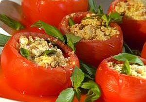 Bharwaan Tamatar (Stuffed Tomatoes)