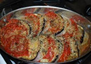 Eggplant (Baingan) Tomato Gratin