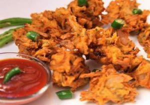 Kanda (Onion) Bhajia