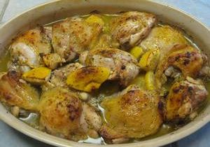 Lemon and Coriander Chicken