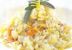 Nimbu Chicken Risotto
