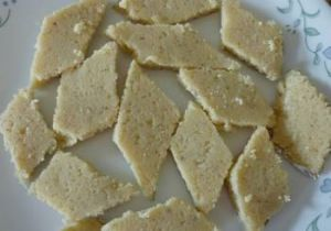 Ricotta Cheese Barfi