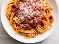 Spaghetti with Turkey Meat