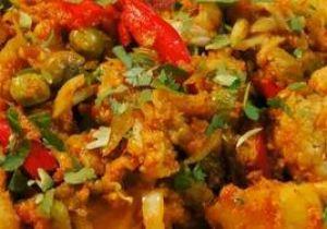Baked Vegetable Jalfrezi