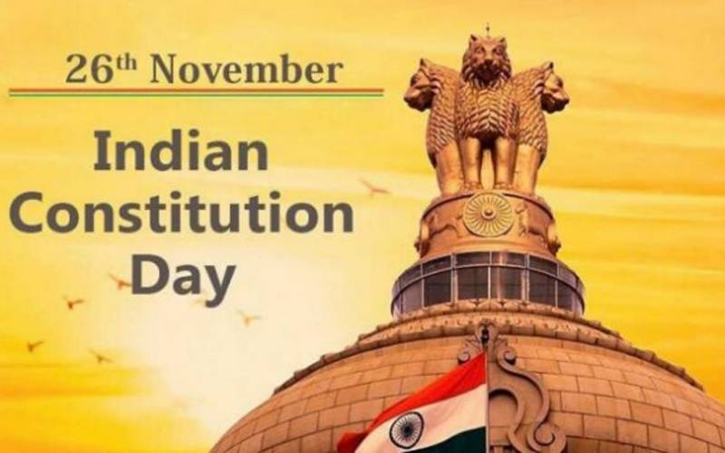 Indian Constitution Day.