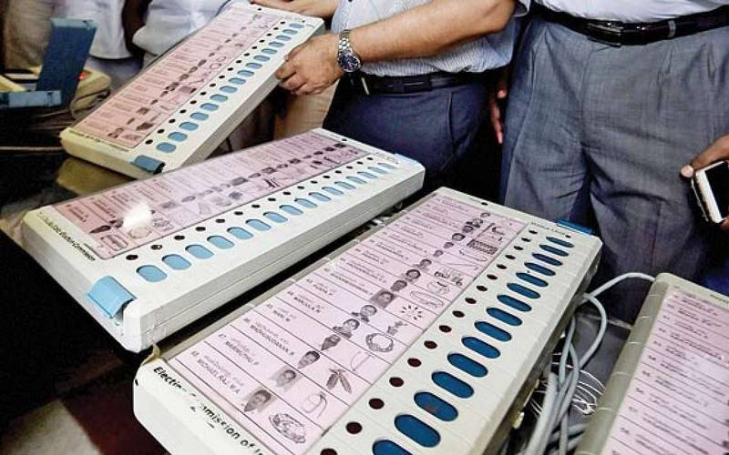 Indian Electronic Voting Machine (EVM)