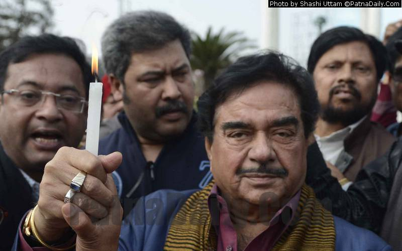 BJP MP from Patna Saheb Shatrughan Sinha (file photo).