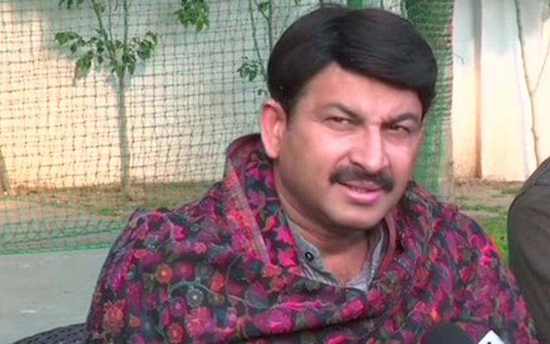 BJP chief of Delhi Manoj Tiwari.
