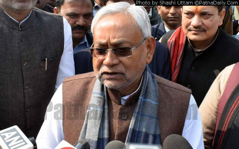 Chief Minister Nitish Kumar (file photo).
