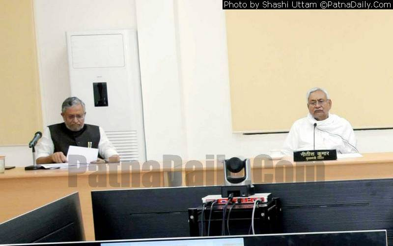 Chief Minister Nitish Kumar holding a meeting on Tuesday to assess education status amid Coronavirus pandemic.