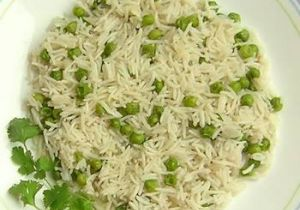 Green Pea Pulao