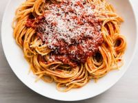 Spaghetti with Turkey Meat